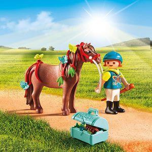 PLAYMOBIL 6971 Country - Schmück Pony Schmetterling