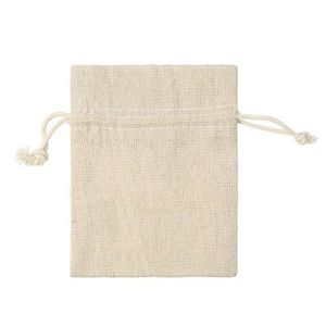 Baumwollsäckchen Leinen natur 24 Stück, 9 x 12 cm