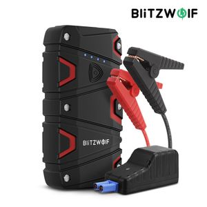 BlitzWolf® BW-JS1 Tragbarer Auto-Starthilfe 12000mAh 800A Notbatterie-Booster Power Bank Wasserdicht mit LED-Taschenlampe QC3.0 USB-Ladeanschluss