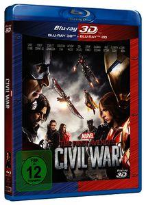 Blu-ray The First Avenger: Civil War 3D +2D