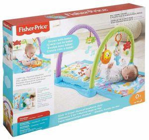 Mattel DRD92 - Fisher-Price - Spieldecke 2 in 1, Seepferdchen