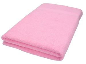Betz XXL Badetuch Größe 100 x 200 cm XXL Badetücher Saunatuch Strandtuch Palermo Farbe - rosé