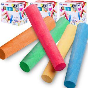 Kinder Kreide Set - 5 verschiedene Farben - 15 Stück
