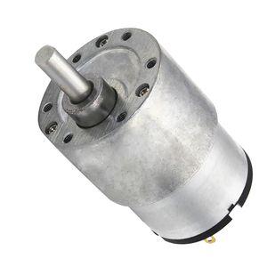 37 gb-520 12 V DC hohe Drehmoment Getriebe Micro Drehzahlreduzierung Motor 200 U / min Silber