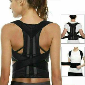 Rückenstabilisator Haltungskorrektur Rückenhalter Geradehalter Rückenbandage, S: Für 75-90cm Taille