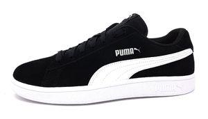 PUMA Smach Low Sneaker Schwarz Schuhe, Größe:42