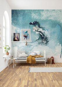 """Komar Vlies Fototapete """"Frozen Spirit Of Wonder"""" - Größe: 250 x 250 cm (Breite x Höhe), 5 Bahnen"""