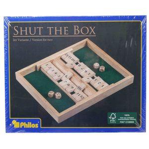 Philos Shut the Box 2-Spieler-Variante - 12er (3282)