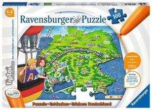 100 Teile Ravensburger Puzzle tiptoi Puzzeln Entdecken Erleben Deutschland 00831