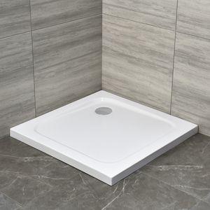 Acrylwanne Duschtasse Duschwanne Brausewanne Dusche Einbauwanne Duschbecken 90 x 90 x4 cm