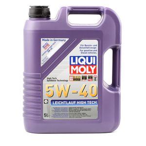 Liqui Moly Leichtlauf High Tech 5W 40 Premium Leichtlaufmotoröl 5L