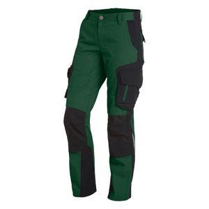 FHB Damen-Arbeitshose ALMA 125600 grün/schwarz Größe: 46