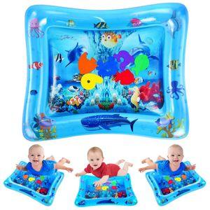 Wassermatte Baby, Baby Spielzeuge 3 6 9 Monate, Baby Wassermatte ist Perfektes Sensorisches Spielzeug für Baby Frühe Entwicklung Aktivitätszentren(66*50cm)