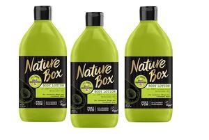Nature Box Body Lotion Avocado-Öl 3er Pack (3 x 385 ml)