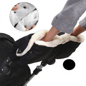 Handmuff muff Kinderwagen Handwärmer Handschuh für Kinderwagen Schwarz