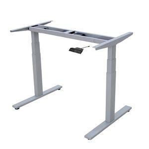 Karpal Hoehenverstellbarer Schreibtisch Arbeit & Buerotischgestell elektrisch grau