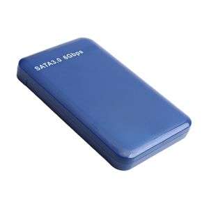 Externe Festplatte Portable SATA 1TB 2TB 500GB USB 3.0 tragbar mit USB-Kabel, Blau 1T 126,5 x 81,5 x 15 mm Tragbare externe Festplatte