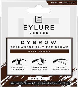 Eylure DYBROW Augenbrauen-Färbeset, dunkelbraun