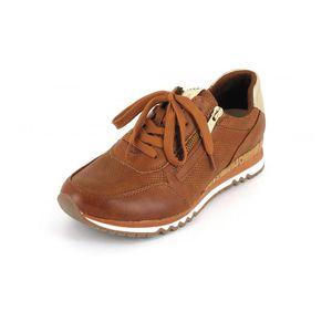 Marco Tozzi Sneaker  Größe 42, Farbe: COGNAC COMB