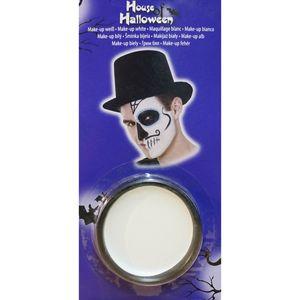 Weißes Make-Up für Halloween und Karneval /  Heitmann