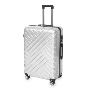Zellerfeld Trendmax Koffer Set Reisekoffer Trolley Kofferset Boardcase Handgepäck XL Silber