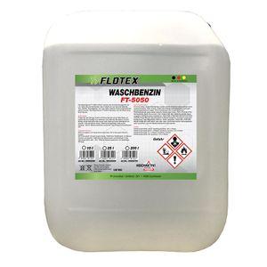 Flotex Waschbenzin, 10L Reinigungsbenzin Textil & Kunststoff, Oberflächen & Arbeitsgeräte