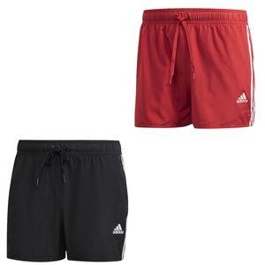 adidas Badehose Herren mit Innenfutter und Taschen, Größe:10 [XL] 58, Farbe:Schwarz