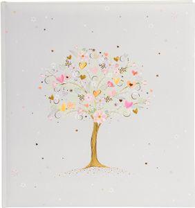 Goldbuch Tree of Love      30x31 60 weiße Seiten Hochzeit   08187
