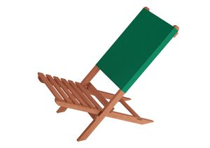 Klappstuhl Strandstuhl Anglerstuhl Gartenstuhl Stuhl zum Zusammenstecken grüner Bezug 10-352