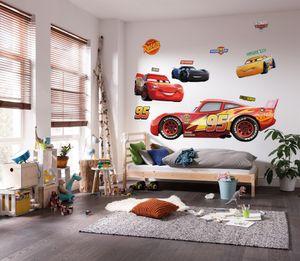 """Komar Vlies Fototapete selbstklebend und konturgeschnitten """"Cars XXL"""" - Größe: 127 x 200 cm (Breite x Höhe) - 1 Stück"""