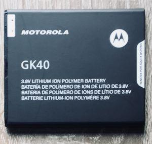 Motorola - GK40 - Moto E3, G4 Play, Moto G5 - Lithium Ionen Polymer - 2800mAh