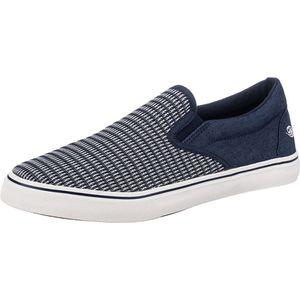 Dockers by Gerli Herren Sportliche Slipper Sneakers, Farbe:Blau (Navy), Größe:EUR 46
