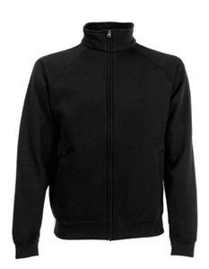 Premium Sweat Jacket - Farbe: Black - Größe: XL