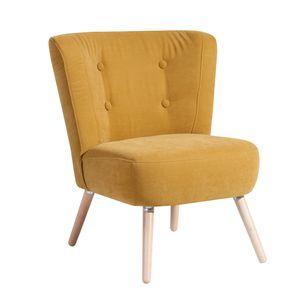 Max Winzer Neele Sessel - Farbe: mais - Maße: 69 cm x 68 cm x 80 cm; 2693-1100-2051766-F01
