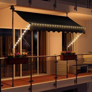 LED - Balkonmarkise 300cm - anthrazit