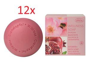Speick Wellness Seife Wildrose & Granatapfel 12x200g