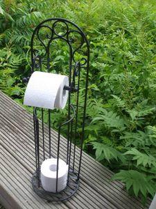 Toilettenrollenständer WC-Rollenständer Ersatzrollenhalter Rollenablage