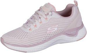 SKECHERS Solar Fuse Damen Mesh Sneakers pink, Air Cooled Memory Foam Fußbett