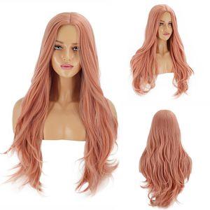 65cm Haar Training Kopf Schaufensterpuppe Kopf Schöne weibliche Puppe Haar Styling Friseur Frauen Perücke Kopf Haar Schaufensterpuppe Professional - Orange