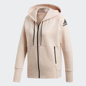 adidas Damen Kapuzen- Trainingsjacke ID Stadium Full-Zip Hood coral, Größe:XS