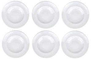 """Retsch Arzberg Pastateller """"Hergestellt in Europa"""" Premium   Porzellan Weiß (6, Ø 30cm)"""