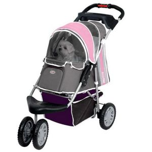 InnoPet® Hundebuggy First Class Hundebuggy Hundewagen Pet Stroller Rosa Pink