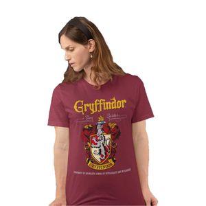 Harry Potter - Gryffindor T-Shirt für Damen PG679 (XL) (Burgunder)