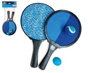 Happy People beachballset und Fang 2-in-1 blau/schwarz