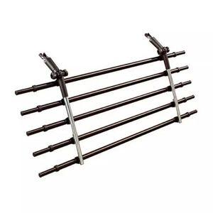 FLAMINGO Hunde-Autogitter mit 5 Stangen Walky Barrier Metall 5283060