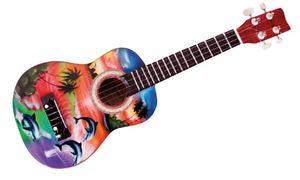 Holzspielerei Kindergitarre   Ukulele Hawaii