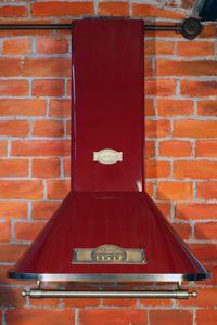 Kaiser A 6315 Rot Em ECO Wandhaube 60cm Dunstabzugshaube 910m³/h 3 Stufen Abluft Umluft