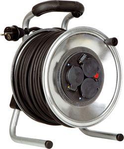 as - Schwabe 10314 IronCoat Metall-Kabeltrommel 285 mmØ, 40m H07RN-F 3G1,5