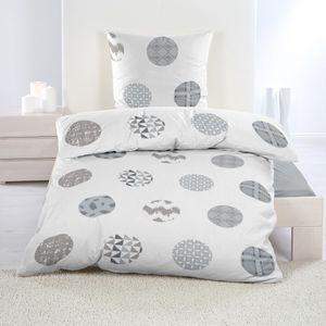 Warme Winter Microfaser Thermo Fleece Bettwäsche 135x200 155x220 Bettbezug Modern, Design - Motiv:Design 13, Maße:135 cm x 200 cm