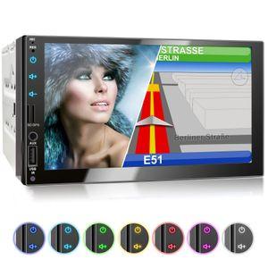 XOMAX XM-2VN751 (L2) 2DIN Navi Autoradio mit GPS, SD, USB und BLUETOOTH